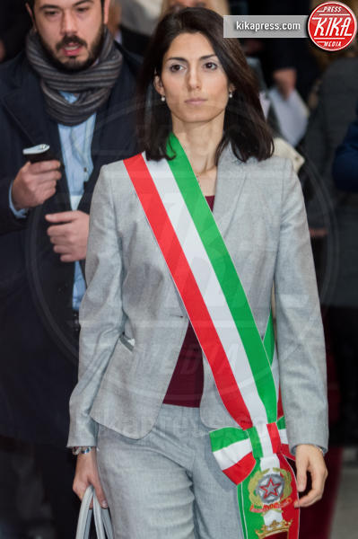 Virginia Raggi - Roma - 26-01-2017 - Il presidente Mattarella all'apertura dell'anno giudiziario