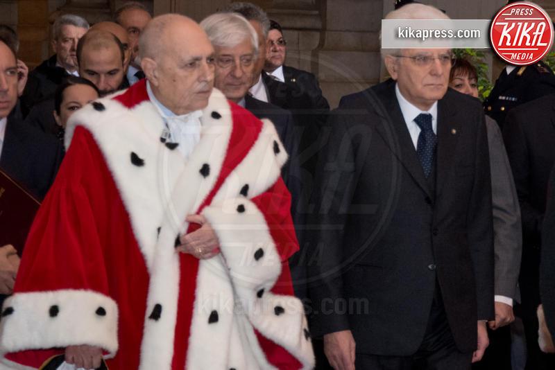 Apertura anno giudiziario, Sergio Mattarella - Roma - 26-01-2017 - Il presidente Mattarella all'apertura dell'anno giudiziario