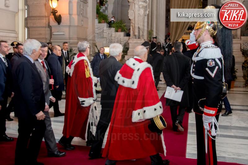 Apertura anno giudiziario - Roma - 26-01-2017 - Il presidente Mattarella all'apertura dell'anno giudiziario