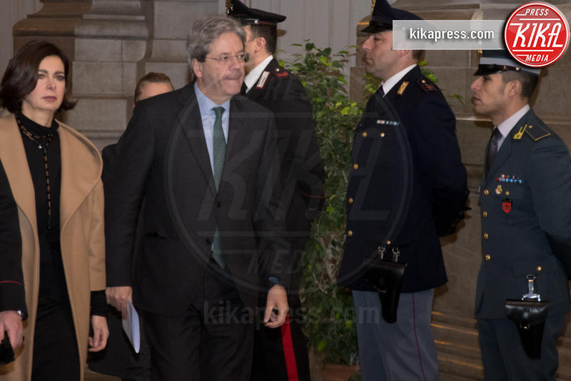Apertura anno giudiziario, Laura Boldrini, Paolo Gentiloni - Roma - 26-01-2017 - Il presidente Mattarella all'apertura dell'anno giudiziario