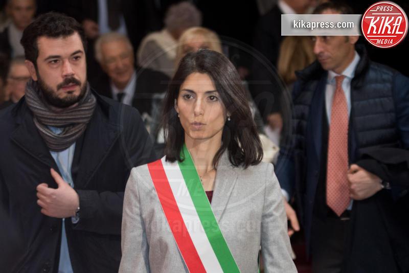 Apertura anno giudiziario, Virginia Raggi - Roma - 26-01-2017 - Il presidente Mattarella all'apertura dell'anno giudiziario