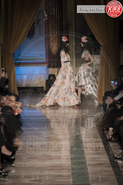 Sfilata Giada Curti - Roma - 27-01-2017 - Altaroma: la sfilata Secret Garden al St. Regis di Giada Curti