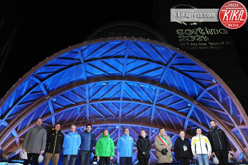 Presentazione mondiali 2021, Kristian Ghedina - Cortina - 27-01-2017 - Mondiali di Cortina 2021: rivelati logo e divise