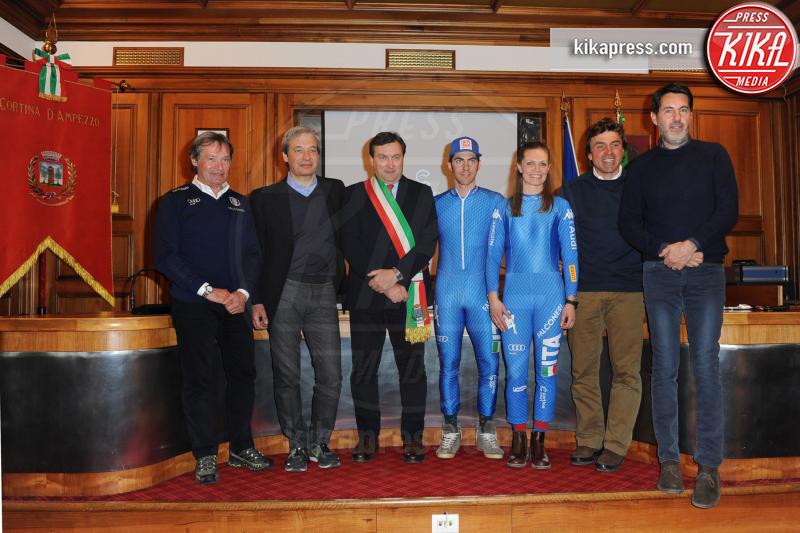 Presentazione mondiali 2021, Stefano GROSS, Manuela Moelgg - Cortina - 27-01-2017 - Mondiali di Cortina 2021: rivelati logo e divise