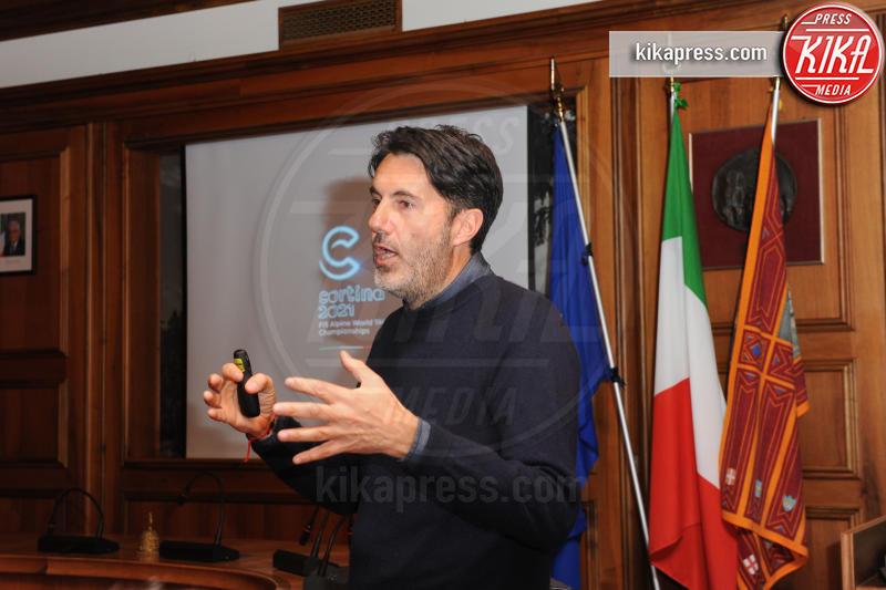 Riccardo Donadon, Presentazione mondiali 2021 - Cortina - 27-01-2017 - Mondiali di Cortina 2021: rivelati logo e divise