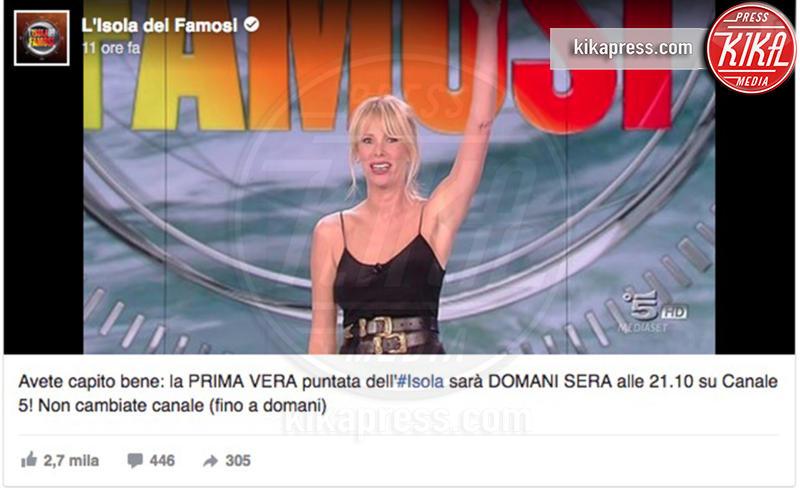 Alessia Marcuzzi - 31-01-2017 - Ilary Blasi soffia un programma tv ad Alessia Marcuzzi