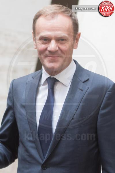 Donald Tusk - Roma - 01-02-2017 - Gentiloni incontra Tusk, l'Ue vuole una correzione dei conti
