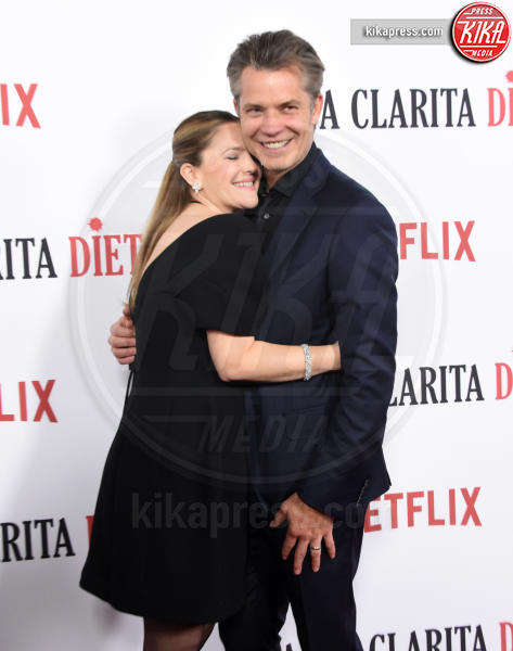 Timothy Olyphant, Drew Barrymore - Hollywood - 01-02-2017 - Drew Barrymore,altro che zombie alla prima di Santa Clarita Diet