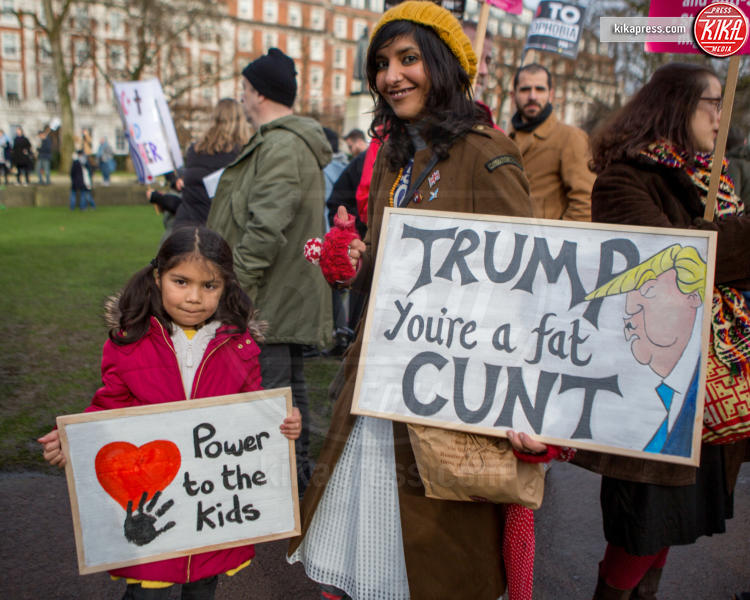 Protesta anti Trump - Londra - 03-02-2017 - Londra, monta la protesta contro il travel ban di Donald Trump