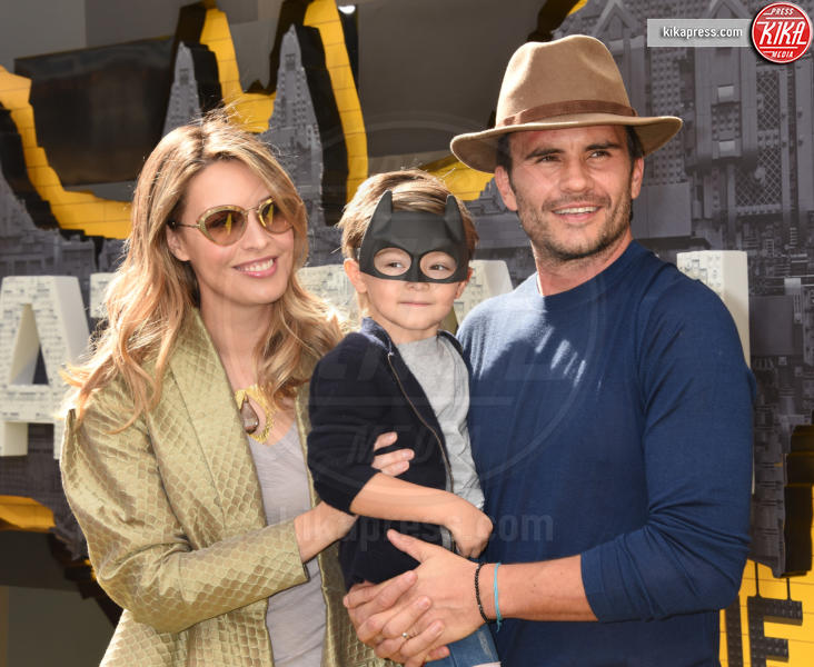 Juan Pablo Raba, Monica Fonseca - Westwood - 04-02-2017 - Mariah Carey porta la famiglia alla prima di Lego Batman-Il Film