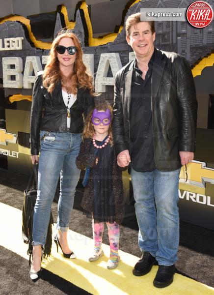 Kari Watson, Olivia, Ralph Garman - Westwood - 04-02-2017 - Mariah Carey porta la famiglia alla prima di Lego Batman-Il Film