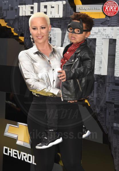 Sebastian Taylor Thomaz, Amber Rose - Westwood - 04-02-2017 - Mariah Carey porta la famiglia alla prima di Lego Batman-Il Film