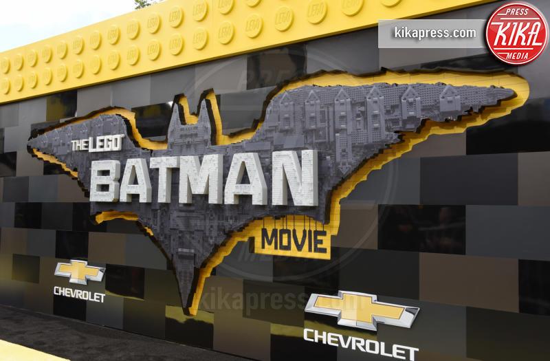 Lego Batman Movie Sign - Westwood - 04-02-2017 - Mariah Carey porta la famiglia alla prima di Lego Batman-Il Film