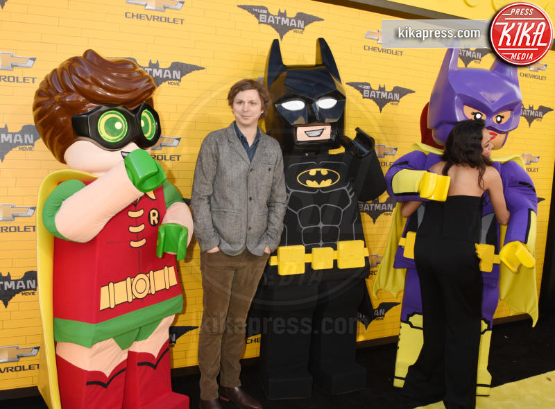 Michael Cena, Rosario Dawson - Westwood - 04-02-2017 - Mariah Carey porta la famiglia alla prima di Lego Batman-Il Film