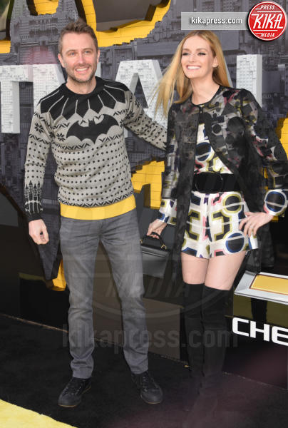 Chris Hardwick, Lydia Hearst - Westwood - 04-02-2017 - Mariah Carey porta la famiglia alla prima di Lego Batman-Il Film