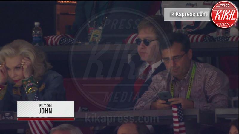 Elton John - 06-02-2017 - Super Bowl: da Emily a Gisele Bundchen, show anche sugli spalti
