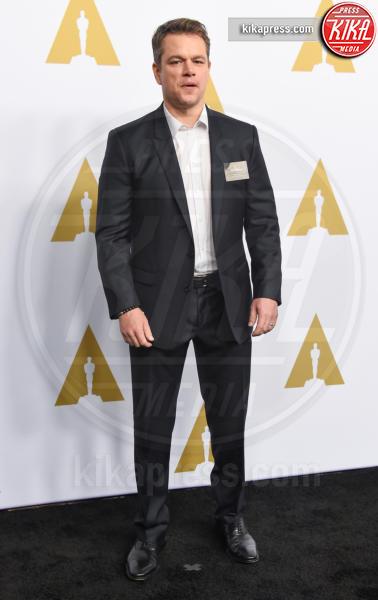 Matt Damon - Beverly Hills - 07-02-2017 - Oscar Luncheon 2017: spicca l'assenza di Asghar Farhadi