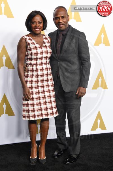 Julius Tennon, Viola Davis - Beverly Hills - 07-02-2017 - Oscar Luncheon 2017: spicca l'assenza di Asghar Farhadi
