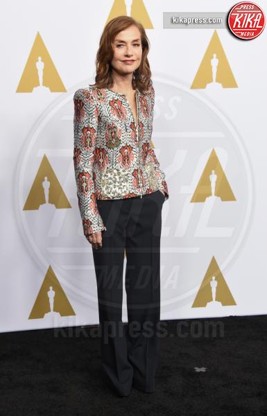 Isabelle Huppert - Beverly Hills - 07-02-2017 - Oscar Luncheon 2017: spicca l'assenza di Asghar Farhadi
