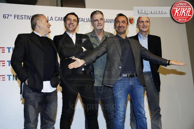 Gialappas Band, Ubaldo Pantani, Nicola Savino - Sanremo - 07-02-2017 - Le star che non sapevate avessero particolari difetti fisici
