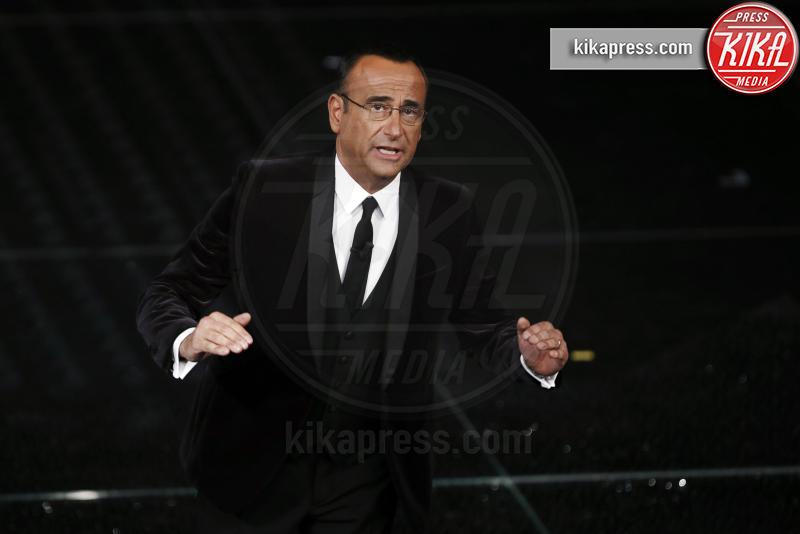 Carlo Conti - Sanremo - 07-02-2017 - Sanremo 2017: le foto della prima serata
