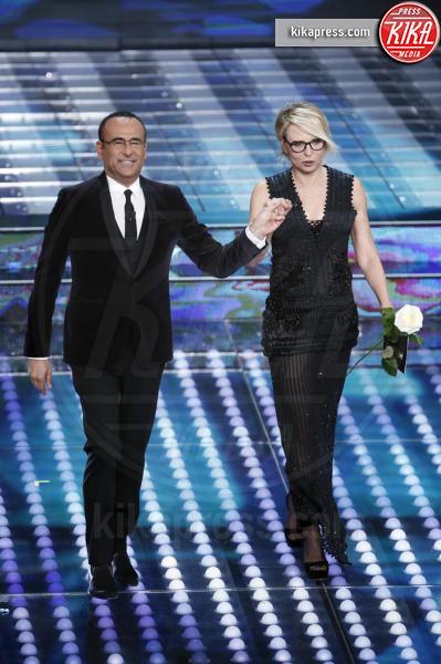 Maria De Filippi, Carlo Conti - Sanremo - 07-02-2017 - Sanremo 2017: le foto della prima serata