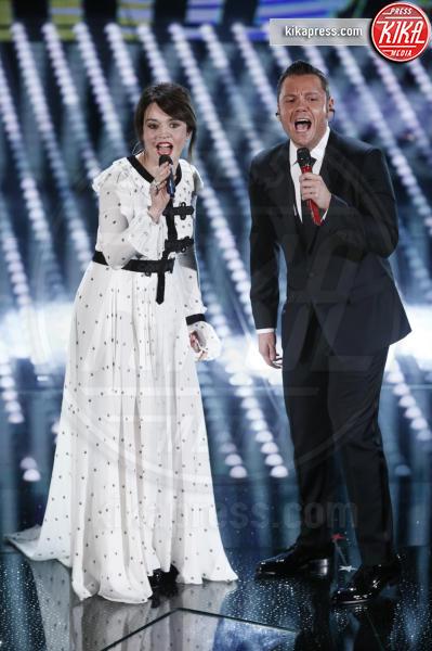 Tiziano Ferro, Carmen Consoli - Sanremo - 07-02-2017 - Sanremo 2017: le foto della prima serata