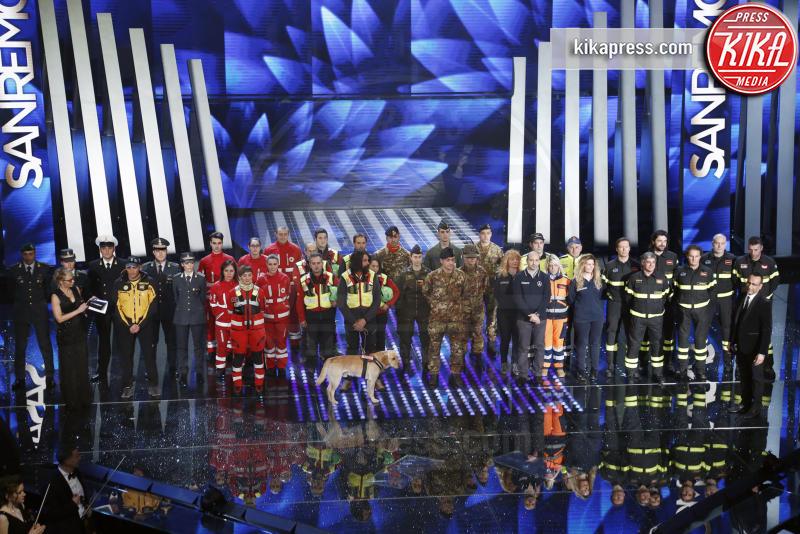 Eroi - Sanremo - 07-02-2017 - Sanremo 2017: le foto della prima serata