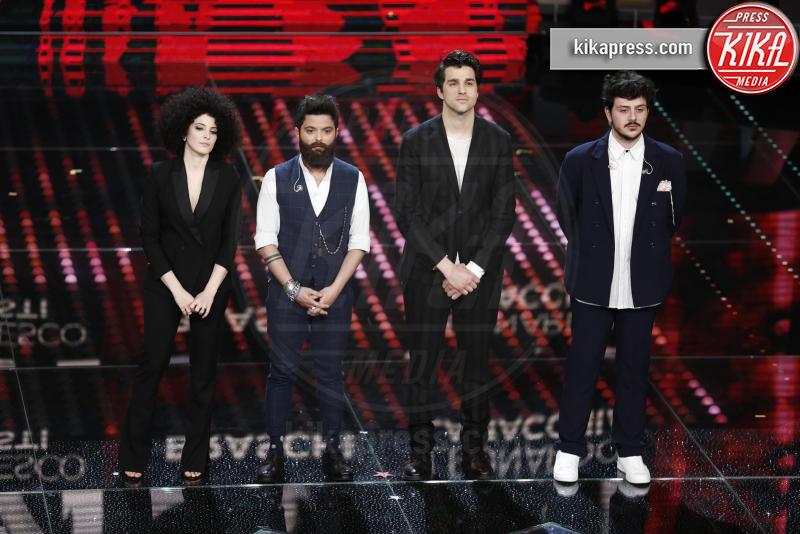 Braschi, Marianne Mirage, Leonardo Lamacchia, Francesco Guasti - Sanremo - 08-02-2017 - Sanremo 2017: le foto della seconda serata