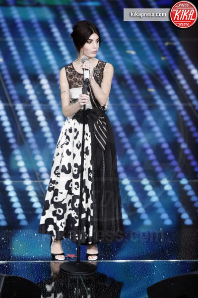 Bianca Atzei - Sanremo - 08-02-2017 - Sanremo 2017: le foto della seconda serata