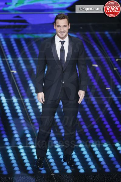 Francesco Totti - Sanremo - 08-02-2017 - Sanremo 2017: le foto della seconda serata