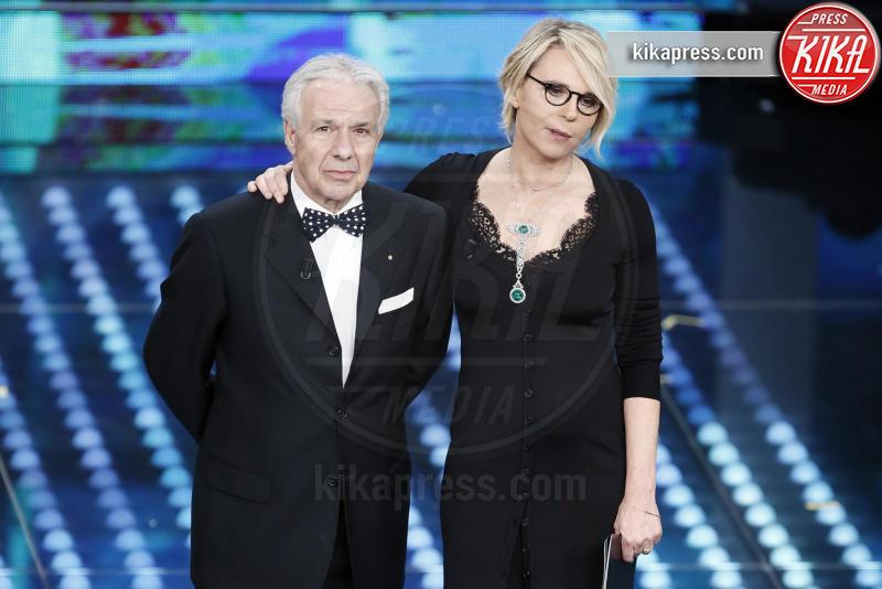 Salvatore Nicotra, Maria De Filippi - Sanremo - 08-02-2017 - Sanremo 2017: le foto della seconda serata