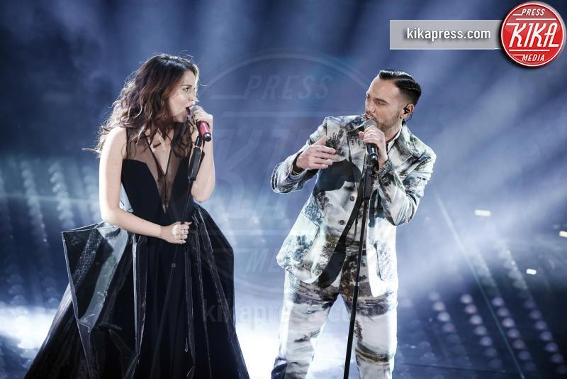 Raige, Giulia Luzi - Sanremo - 08-02-2017 - Sanremo 2017: le foto della seconda serata