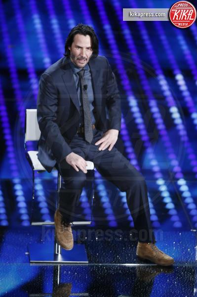 Keanu Reeves - Sanremo - 08-02-2017 - Sanremo 2017: le foto della seconda serata