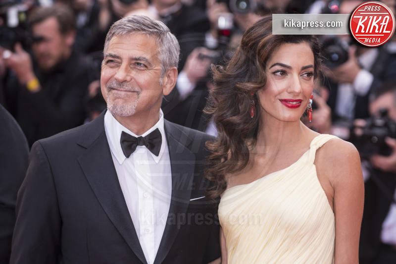 Amal Clooney, George Clooney - Cannes - 12-05-2016 - George Clooney e Amal aspettano due gemelli, è ufficiale