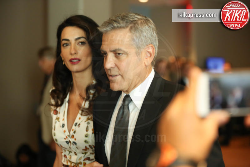 Amal Clooney, George Clooney - New York - 20-09-2016 - George Clooney e Amal aspettano due gemelli, è ufficiale