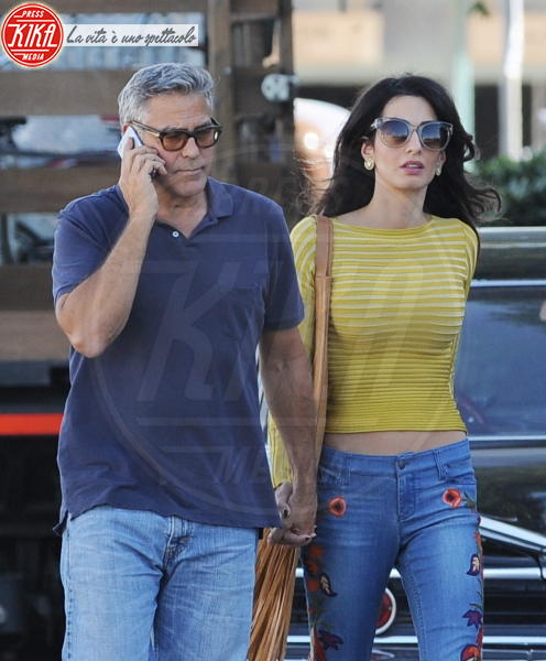 Amal Alamuddin, George Clooney - Los Angeles - 20-10-2016 - George Clooney e Amal aspettano due gemelli, è ufficiale
