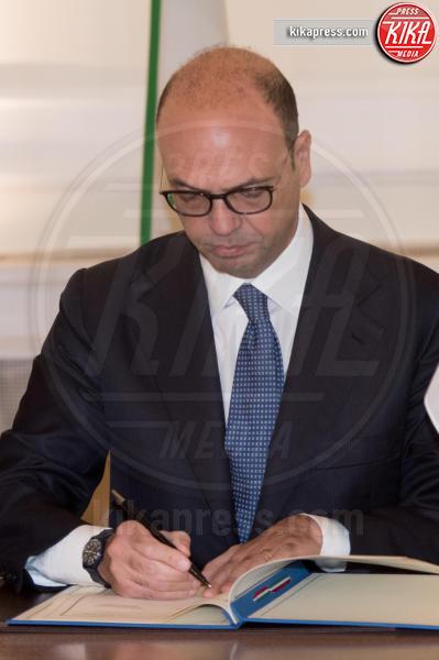 Angelino Alfano - Roma - 09-02-2017 - Angelino Alfano, firmata dichiarazione congiunta Italia-Tunisia