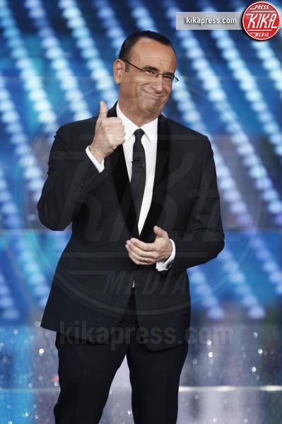 Carlo Conti - Sanremo - 10-02-2017 - Sanremo 2017, tutte le emozioni della quarta serata