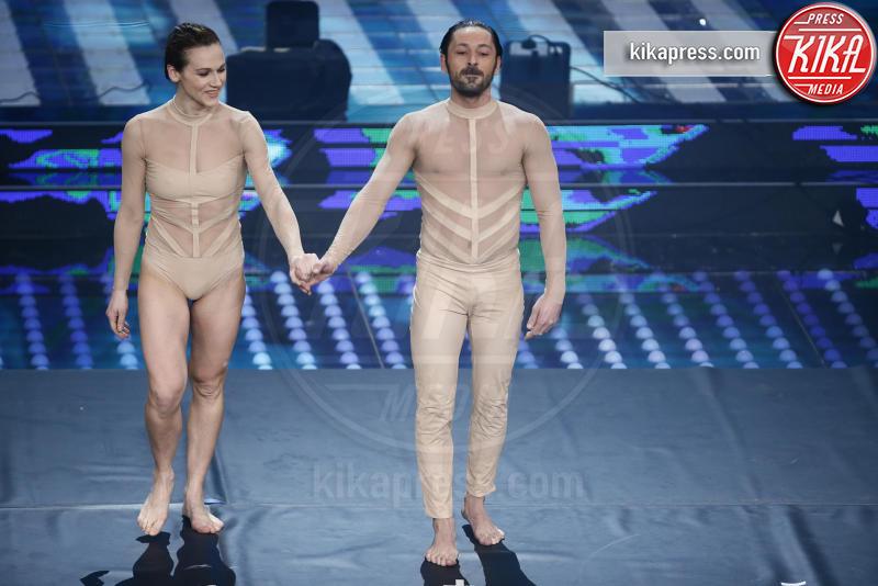 Kitonb, ballerini sanremo - Sanremo - 10-02-2017 - Sanremo 2017, tutte le emozioni della quarta serata