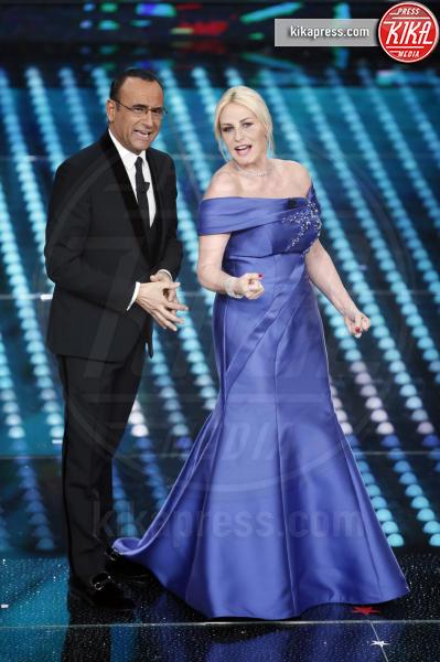 Carlo Conti, Antonella Clerici - Sanremo - 10-02-2017 - Sanremo 2017, tutte le emozioni della quarta serata