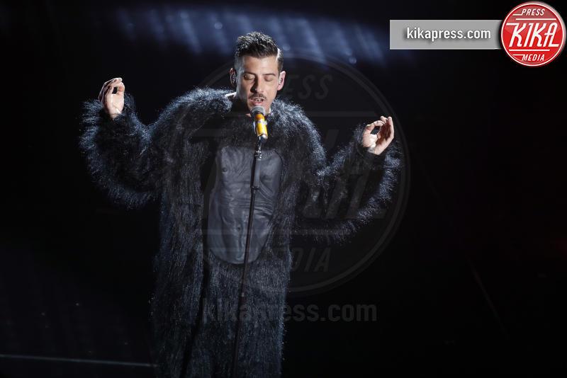 Francesco Gabbani - Sanremo - 10-02-2017 - Sanremo 2017, tutte le emozioni della quarta serata