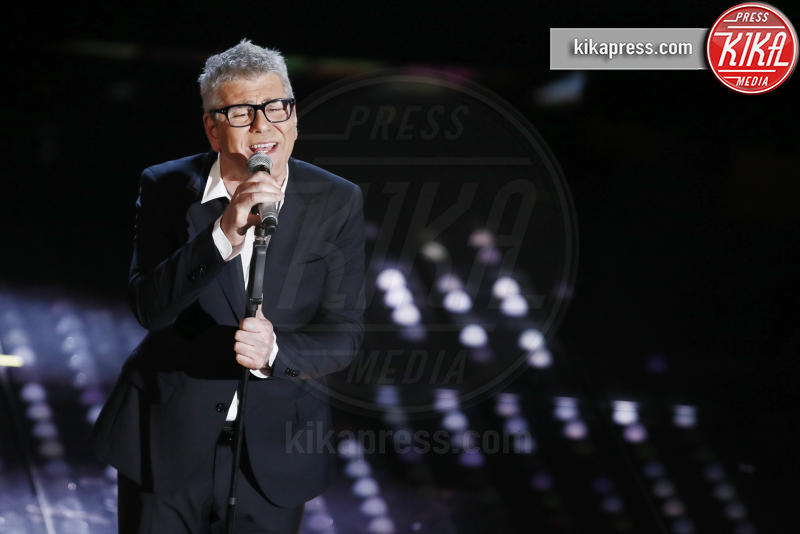 Michele Zarrillo - Sanremo - 10-02-2017 - Sanremo 2017, tutte le emozioni della quarta serata