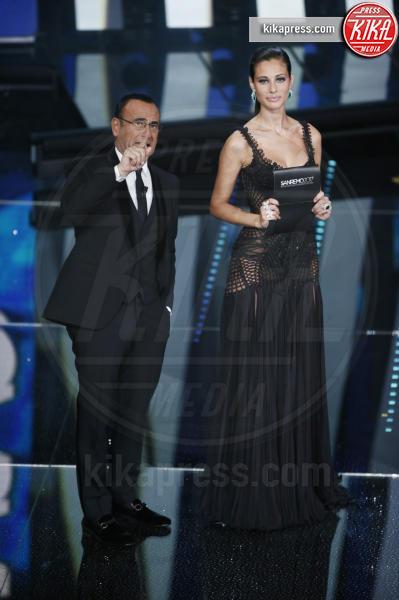 Marica Pellegrinelli, Carlo Conti - Sanremo - 11-02-2017 - Auguri Marica Pellegrinelli, le curiosità su Lady Ramazzotti