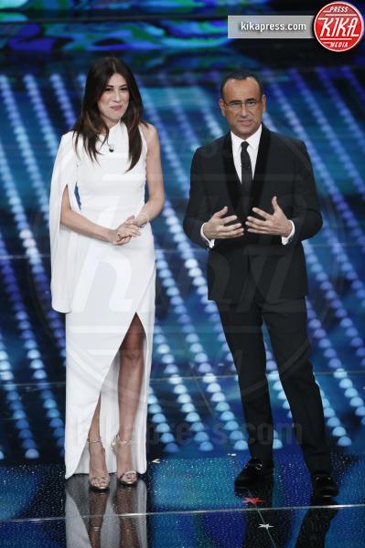 Virginia Raffaele, Carlo Conti - Sanremo - 11-02-2017 - Sanremo 2017, tutte le emozioni della quarta serata