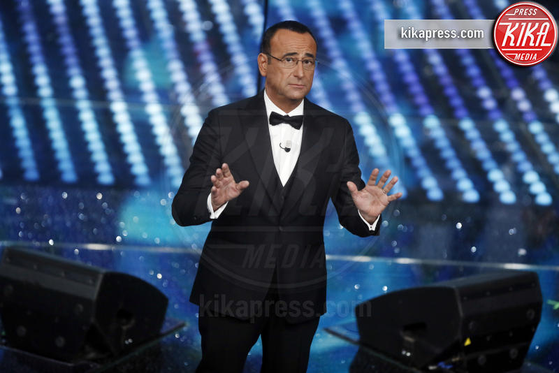 Carlo Conti - Sanremo - 11-02-2017 - Sanremo 2017: le foto della serata finale