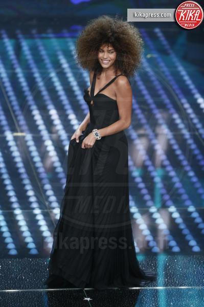 Tina Kunakey Di Vita - Sanremo - 11-02-2017 - Sanremo 2017: le foto della serata finale