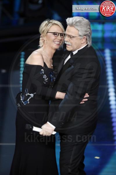 Maurizio Crozza, Maria De Filippi - Sanremo - 11-02-2017 - Sanremo 2017: le foto della serata finale