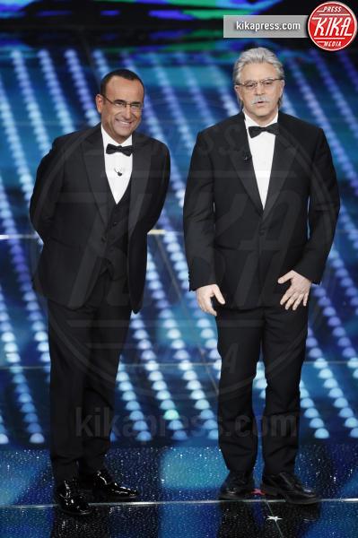 Maurizio Crozza, Carlo Conti - Sanremo - 11-02-2017 - Sanremo 2017: le foto della serata finale