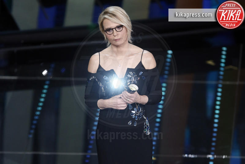 Maria De Filippi - Sanremo - 11-02-2017 - Sanremo 2017: le foto della serata finale